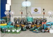 小型機械レンタル事業